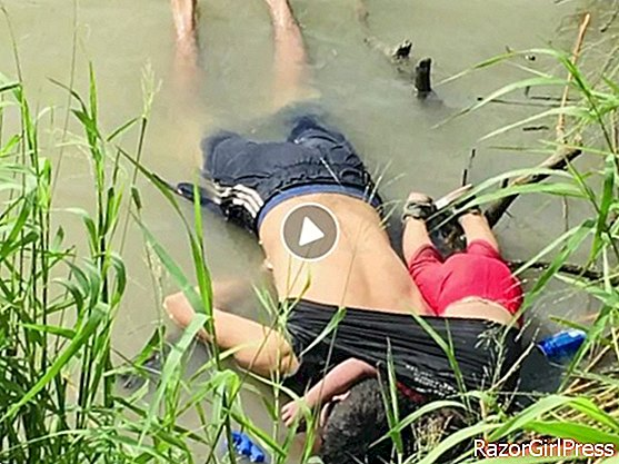 A 2-year-old girl and her father drowned: the image that shocked Internet users