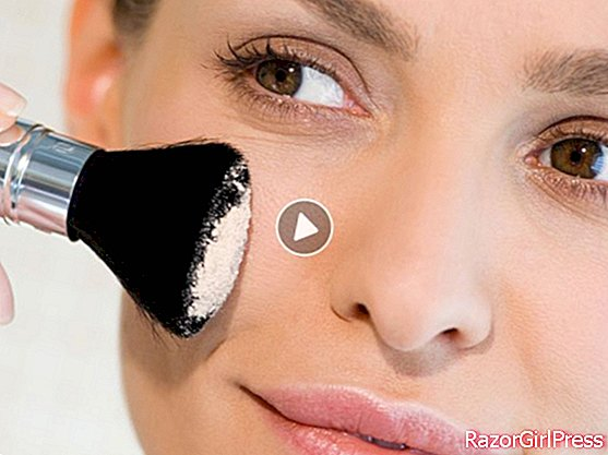 Video: How to properly apply mineral powder?