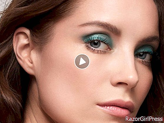 Video - green makeup for clear eyes
