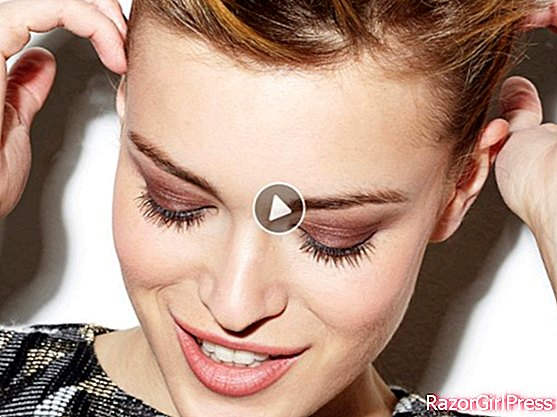 Video: the copper make-up on the eyelids