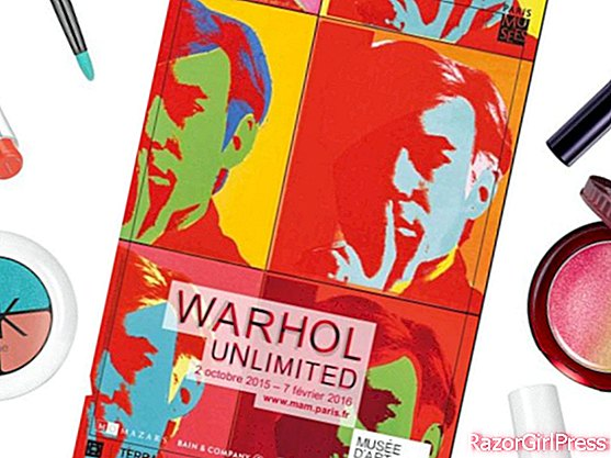 Warhol the exhibition: our pop beauty shopping