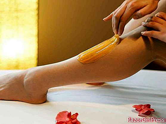 Oriental hair removal with sugar
