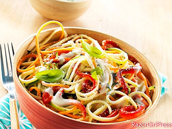 Easy and light, our vegetable spaghetti recipes are perfect for summer!