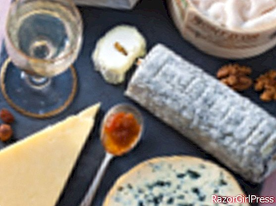 Two cheese platters for the holidays