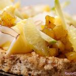 Jonathan Blot's pineapple-coconut cake
