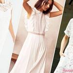 White dress: 25 chic ideas for a low-priced wedding